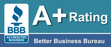 A+ Rating Better Business Bureau